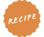 Recipe-sticker