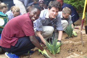 Zambian students visit Adelaide's Pulteney Grammar School