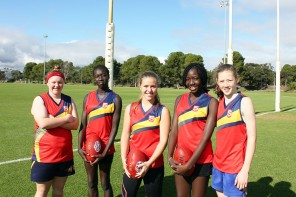 African-Australian Girls to represent SA in Aussie Rules Tournament
