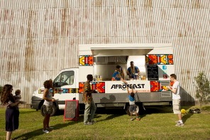 Afrofeast Food Truck on a roll