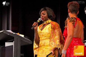 Ugandan Fashion Designer Suzan Mutesi honoured at AAMMA's