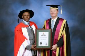Honouring Festus Mogae, former President of Botswana