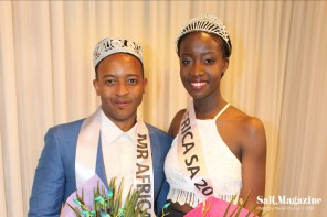 Miss Liberia and Mr Tanzania win in SA's Annual African Beauty Pageant 2015